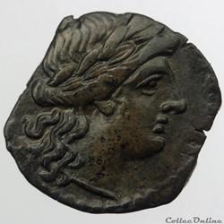 monnaie antique av jc ap gauloise massalia petit bronze au taureau