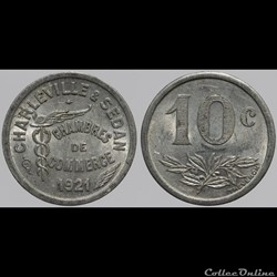 08 - Charleville-Sedan - 10 centimes