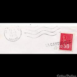 1971 - LA CANOURGUE / 48-034 linéaire