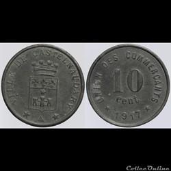 11 - Castelnaudary - 10 centimes