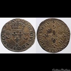 Henri II - Douzain - 1550, Villeneuve