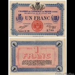 1 franc C.C.M. - Série D15