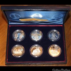 1994 - Coffret Libération II, argent B.E.