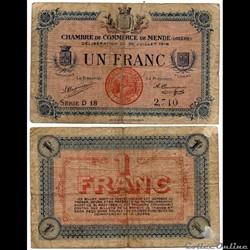 1 franc C.C.M. - Série D18