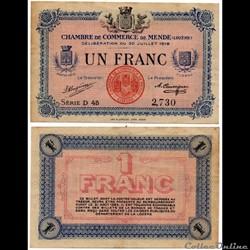 1 franc C.C.M. - Série D45