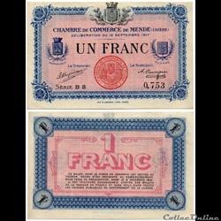 1 franc C.C.M. - Série B8