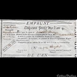 Bon pour 60 francs - Grandrieu (Lozère)