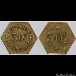 NI - Bouillon A. Groult - 50 centimes