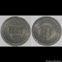 03 - Vichy - 10 centimes