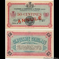 50 cent. C.C.M. - Série A47 annulé