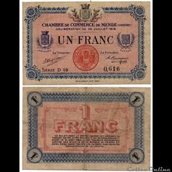 1 franc C.C.M. - Série D19