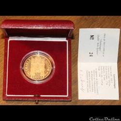 1990 - 70 écus/500 franc or B.E.