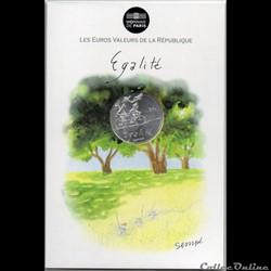 2014 - 10 euro Sempé - Egalité, printemps