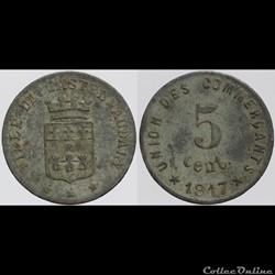 11 - Castelnaudary - 5 centimes