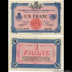 1 franc C.C.M. - Série B45