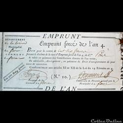 Bon pour 110 francs - Florac (Lozère)