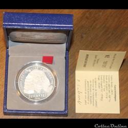 1991 - 15 écus/100 franc argent B.E.