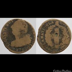 Louis XVI - 2 sols - 1793, Orléans