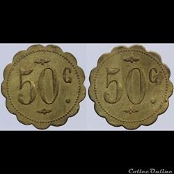 Jeton de 50 centimes