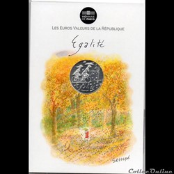 2014 - 10 euro Sempé - Egalité, automne