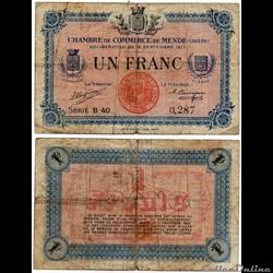 1 franc C.C.M. - Série B40