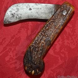 Couteau serpette, Maurau à Aubusson