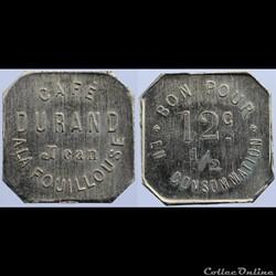 42 - La Fouillouse - 12 centimes 1/2