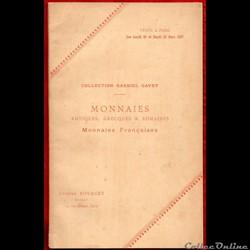 1897 - Vente collection G. Gavet
