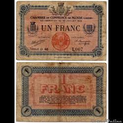 1 franc C.C.M. - Série D46