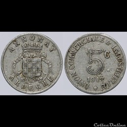 07 - Annonay - 5 centimes