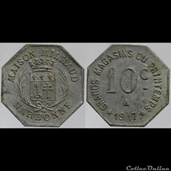 11 - Narbonne - 10 centimes