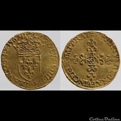 Charles IX - Ecu d'or - 1567, Villeneuve