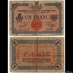 1 franc C.C.M. - Série D7