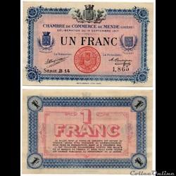 1 franc C.C.M. - Série B14