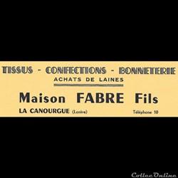 Fabre fils (vers 1930-40)