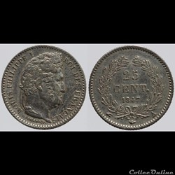 Louis Philippe I - 25 centimes - 1847 A