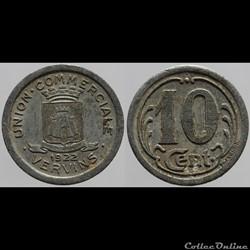02 - Vervins - 10 centimes