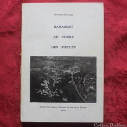 Livre - Banassac au cours des siècles