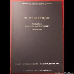 2001 2002 - Vente collection M. Bonhomme