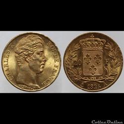 Charles X - 20 francs - 1825 Paris