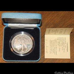 1991 - 100 franc argent B.E.