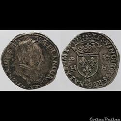 Henri II - Teston - 1559, la Rochelle