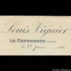 Viguier Louis - 1921
