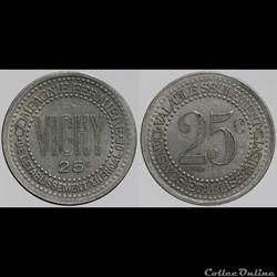 03 - Vichy - 25 centimes