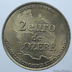 2 euro de Lozère