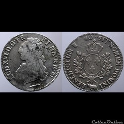 Louis XVI - Ecu - 1780, Pau