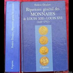 1987 - Répértoire général... - F. Droule...