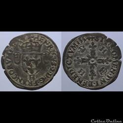 Henri II - Douzain - 1554, la Rochelle