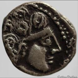série 1175B DT 3545 drachme au bucrane