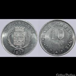 11 - Carcassonne - 10 centimes